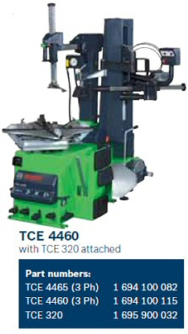 tyre changer tce4460-4465 for wider tyres